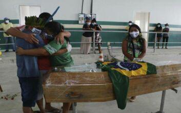 Τραγωδία δίχως τέλος για μια 76χρονη βραζιλιάνα εξαιτίας του κορονοϊού