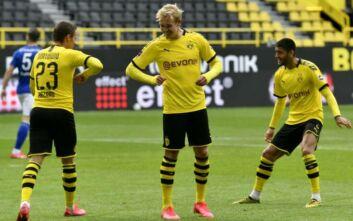 Bundesliga: Επέστρεψε με 4άρα η Ντόρτμουντ