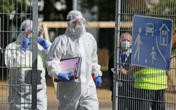 Δεκαέξι θάνατοι από COVID-19 τις τελευταίες 24 ώρες στη Γερμανία