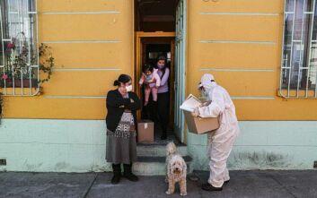 Στα όρια του το σύστημα υγείας της Χιλής - Τα κρούσματα κορονοϊού πλησιάζουν τα 70.000