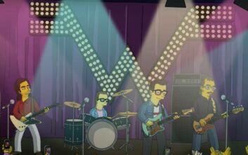 Η «μέταλ» εκδοχή του μουσικού θέματος των Simpsons από τους Weezer