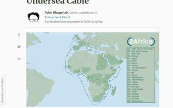Το Facebook «κυκλώνει» την Αφρική με κολοσσιαίο υποθαλάσσιο καλώδιο 37.000 χλμ.