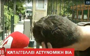 Καταγγελία για αστυνομική βία στα Σεπόλια και άγριο ξυλοδαρμό νεαρού μπροστά στον πατέρα του