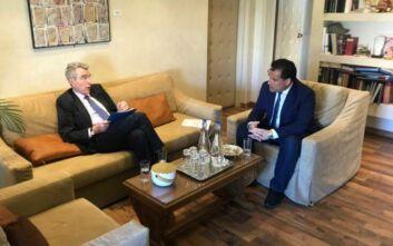 Τζέφρι Πάιατ: Οι ΗΠΑ σταθερός εταίρος της Ελλάδας στην πορεία της για την οικονομική ανάπτυξη