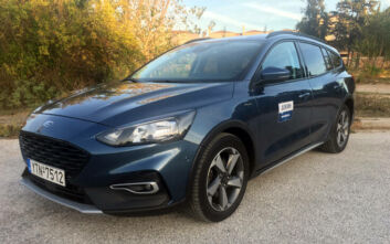 Οδηγούμε το Ford Focus Active Wagon, 1.5 EcoBoost