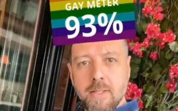 Αναβρασμός στο Instagram για το «Gay meter» που δημοσίευσε ο Μάνος Παπαγιάννης