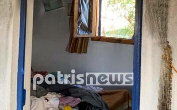 Στάχτη έγινε σπίτι στην Ηλεία - Στο νοσοκομείο ο ιδιοκτήτης