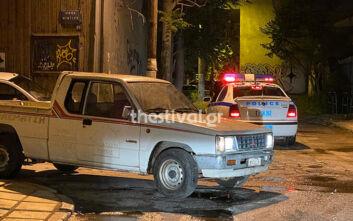 Κινηματογραφική καταδίωξη κλεμμένου οχήματος στη Θεσσαλονίκη
