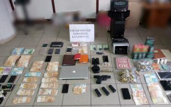 Εξαρθρώθηκε κύκλωμα εκβιασμών και «ξεπλύματος» χρημάτων σε Αθήνα και Καλαμάτα - Πώς δρούσαν τα μέλη του