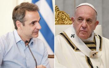 Ο Κυριάκος Μητσοτάκης κάλεσε τον Πάπα Φραγκίσκο στην Ελλάδα