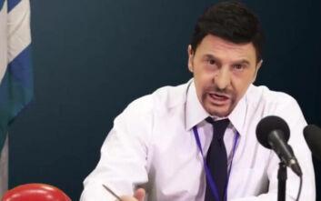Επικό βίντεο: Ο Τάκης Ζαχαράτος σε ρόλο... Χαρδαλιά