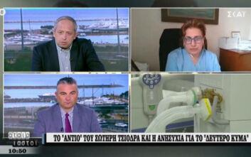 Κοτανίδου: Δεν υπάρχει εμβόλιο κατά του κορονοϊού στην Ελλάδα