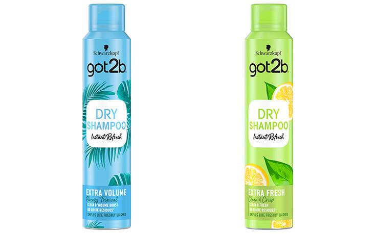 Νέα σειρά Got2b Instant Refresh Dry Shampoo για άμεσο φρεσκάρισμα στη στιγμή