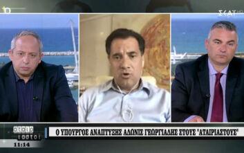 """Γεωργιάδης: «Όταν οι έμποροι λένε """"δεν πάμε καλά"""" είναι η κωδική ονομασία πως η δουλειά πήγε καλά»"""