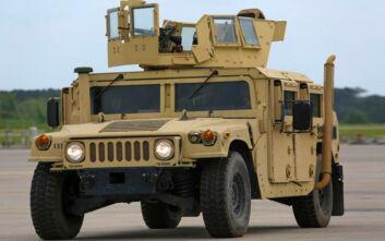Αυτό είναι το επιβλητικό Hummer του Δ' Σώματος Στρατού που θωρακίζει τα σύνορά μας