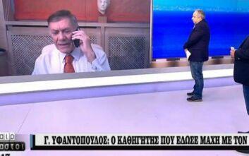 Καλεσμένος σε εκπομπή του ΣΚΑΪ: «Κόλλησα κορονοϊό στο κανάλι σας»