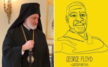 Αρχιεπίσκοπος Αμερικής Ελπιδοφόρος για θάνατο George Floyd: Να σταθούμε απέναντι στον ρατσισμό