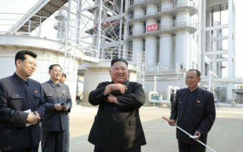 Πρώτη δημόσια εμφάνιση του Κιμ Γιονγκ Ουν έπειτα από τρεις εβδομάδες