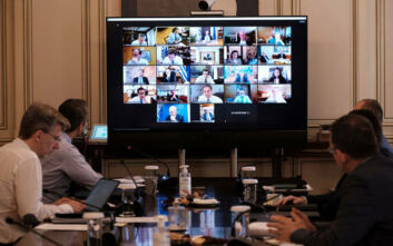 Συνεδριάζει στις 11 το υπουργικό συμβούλιο υπό τον Κυριάκο Μητσοτάκη
