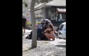 Η ηλιοθεραπεία σε παραλία της Λεμεσού, το βίντεο της επεισοδιακής σύλληψης και η θέση της Αστυνομίας