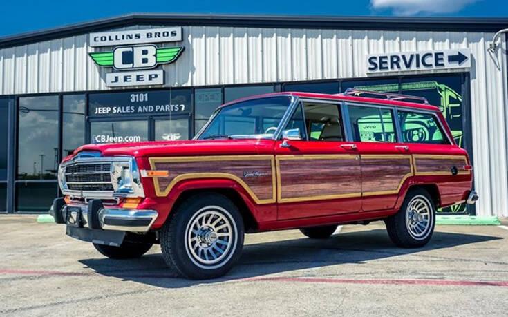 Υπάρχει λόγος που το Jeep Grand Wagoneer του 1989 πωλείται έναντι 118.000 ευρώ – Newsbeast