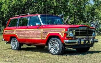Υπάρχει λόγος που το Jeep Grand Wagoneer του 1989 πωλείται έναντι 118.000 ευρώ