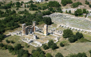 Προχωρούν οι εργασίες ενοποίησης του αρχαιολογικού χώρου των Φιλίππων
