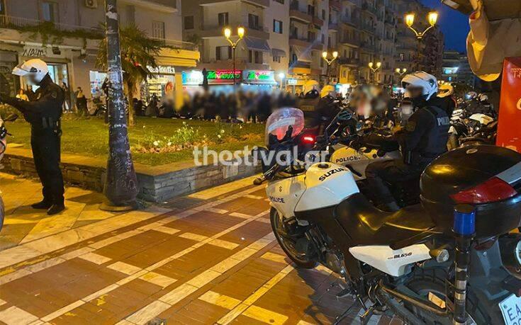 Μεγάλη κινητοποίηση της Αστυνομίας στη Θεσσαλονίκη για οπαδικό επεισόδιο που δεν έγινε
