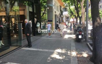 Πρεμιέρα με αισιοδοξία και... αποστάσεις για τα εμπορικά καταστήματα της Θεσσαλονίκης