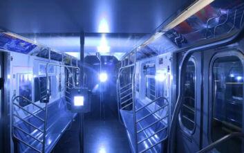 Να πώς απολυμαίνει το μετρό της Νέας Υόρκης τα τρένα του