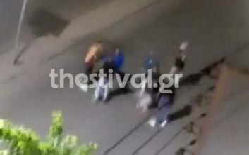 Βίντεο - ντοκουμέντο από την επίθεση σε βάρος 40χρονου στη Θεσσαλονίκη