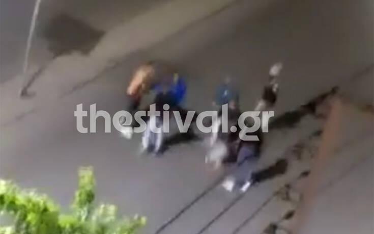 Βίντεο – ντοκουμέντο από την επίθεση σε βάρος 40χρονου στη Θεσσαλονίκη