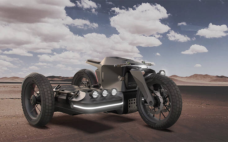 Το concept που οραματίζεται το μέλλον του off-road σε δύο τροχούς – Newsbeast