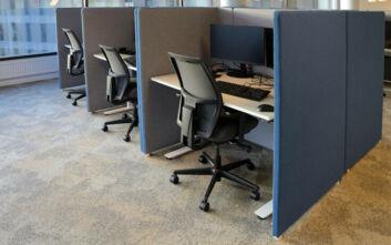 Ο κορονοϊός αλλάζει τον εργασιακό χώρο: Επιστρέφει το γραφείο-κουβούκλιο