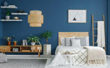 Το χρώμα που πρέπει να βάψετε το δωμάτιό σας για να κοιμάστε ήρεμοι τα βράδια