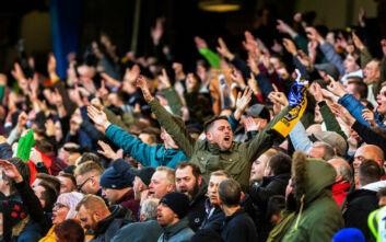 Αγγλία: Δοκιμές με 1.000 οπαδούς στα γήπεδα