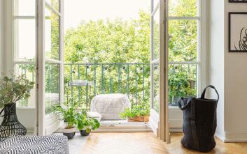 Εύκολες χειροποίητες κατασκευές για να διακοσμήσετε το μπαλκόνι σας