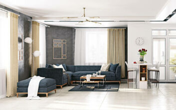 Πώς να χαρίσετε πολυτελή ατμόσφαιρα στο σαλόνι σας
