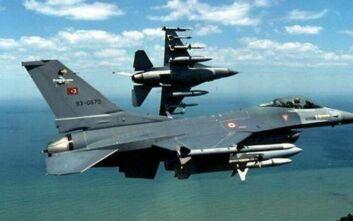 Τουρκικά αεροσκάφη πάνω από το Αγαθονήσι και Ανθρωποφάγους