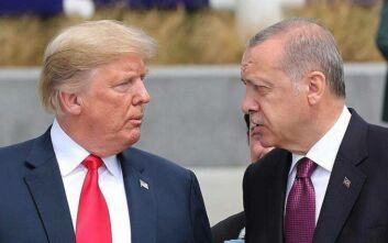 Τηλεφωνική επικοινωνία Τραμπ - Ερντογάν: Τι συμφώνησαν για Λιβύη και Συρία