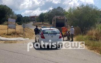 Πύργος: Γυναίκα έπεσε από απορριμματοφόρο και χτύπησε σοβαρά στο κεφάλι