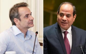 Μητσοτάκης και αλ-Σίσι επιβεβαίωσαν τους ιστορικούς δεσμούς Ελλάδας και Αιγύπτου