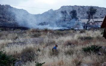 Φωτιά τώρα στη ΒΙΑΛ στη Χίο – Μεγάλη κινητοποίηση της Πυροσβεστικής
