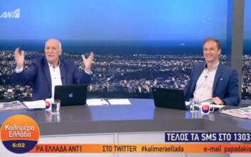 Ο Γιώργος Παπαδάκης επέστρεψε στο τηλεοπτικό πλατό μετά από 42 ημέρες