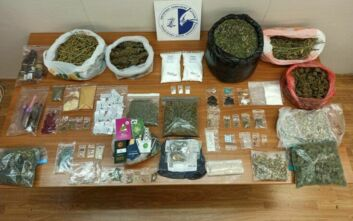 Εξαρθρώθηκε κύκλωμα που διακινούσε μεγάλη γκάμα ναρκωτικών σε Εξάρχεια, Καλλιθέα και Πετράλωνα