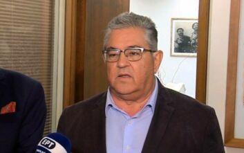 Κουτσούμπας: Να προχωρήσει άμεσα η αναγνώριση του παλαιστινιακού κράτους από την κυβέρνηση