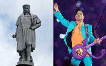 Μαζεύουν υπογραφές για να αντικαταστήσουν τον Χριστόφορο Κολόμβο με τον Prince
