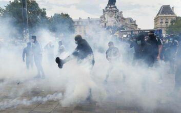 Παρίσι: Επεισόδια μεταξύ αστυνομίας και ακτιβιστών που διαμαρτύρονταν κατά του ρατσισμού
