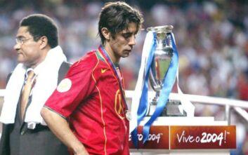 Ο Ρουί Κόστα και το Euro 2004: Δεν έπρεπε να μιλήσω για την Ελλάδα, όταν απέκλεισαν την Τσεχία χαμογελούσαμε