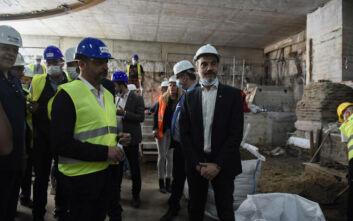 Έτοιμο το 2023 το μετρό Θεσσαλονίκης - Σε τρία εργοτάξια ο Κωνσταντίνος Ζέρβας